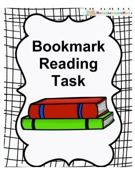 Bookmark Reading Task