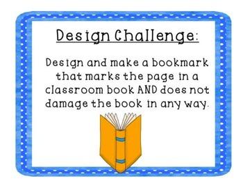 STEM Challenge- Bookmark Engineering