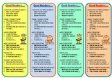 Bookmark - Strategies of Good Readers - For Book Clubs and