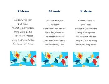 Bookmark Syllabi for K-4
