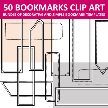 Bookmarks Templates Clip Art