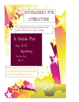 Bookmark for A to Z Mysteries