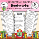 Bookmarks for Great Book Series * 2nd and 3rd Grade Level
