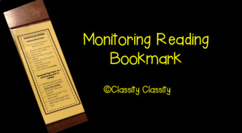 Bookmark for Reading Monitoring