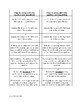 Bookmarks of steps to solving multi-step equations and order of operations