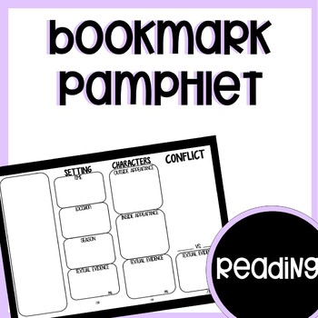 Bookmark  pamplet