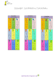 Bookmark timetable