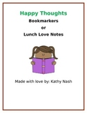 Bookmarkers or Lunch Box Love Notes