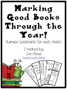 Marking Good Books Through the Year {FREEBIE}