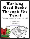 Marking Good Books Through the Year {FREEBIE}