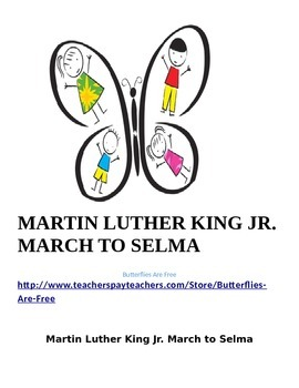(Bookmarks-15) MLK jr. March to Selma