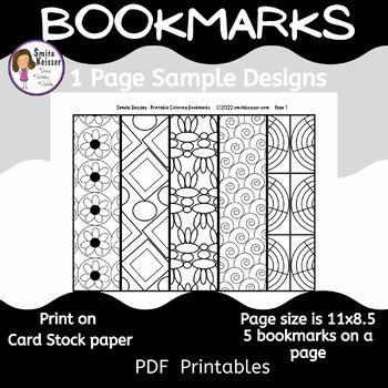 Bookmarks English, Gift Bookmarks (Smita Keisser)