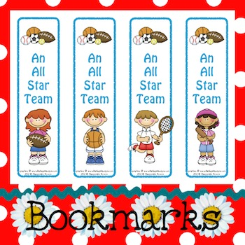 Bookmarks: An All Star Team 2