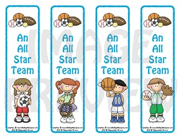 Bookmarks: An All Star Team 3