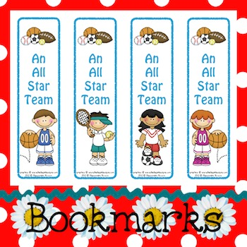 Bookmarks: An All Star Team 5