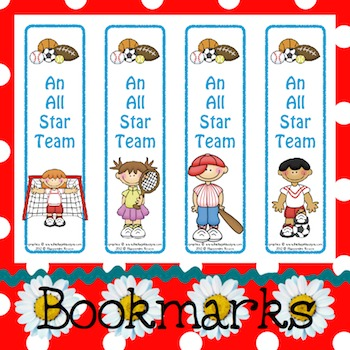 Bookmarks: An All Star Team 6