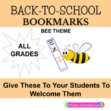 Back-To-School: Bookmarks