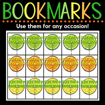 Bookmarks - Back-to-School, End-of-Year, & Student Gifts