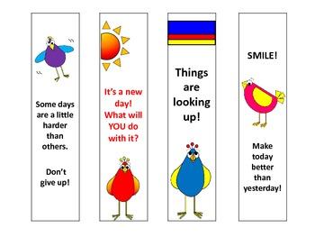 Bookmarks: Birds