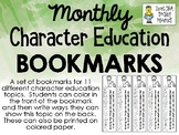 Bookmarks - Character Education Topics - FREEBIE!