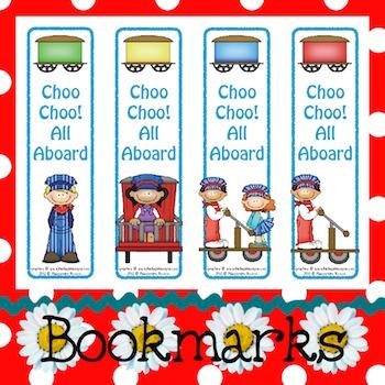 Bookmarks: Choo Choo! All Aboard 1