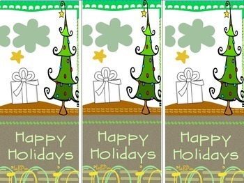 Bookmarks: Christmas, Holiday
