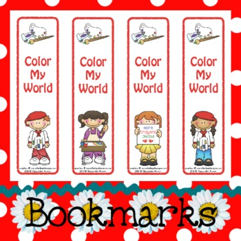 Bookmarks: Color My World