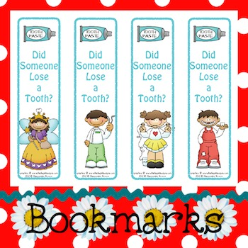 Bookmarks: Did Someone Lose a Tooth? 1