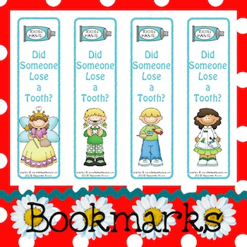 Bookmarks: Did Someone Lose a Tooth? 2