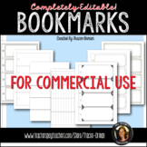 Bookmarks: Editable Templates for Commercial Use