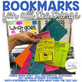 Bookmarks! For all the things!