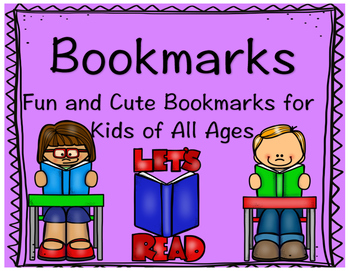 Bookmarks-Fun and Cute Bookmarks