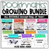 Bookmarks - GROWING BUNDLE [EDITABLE]
