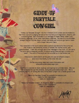 Bookmarks: Giddy-Up Fairytale Cowgirl