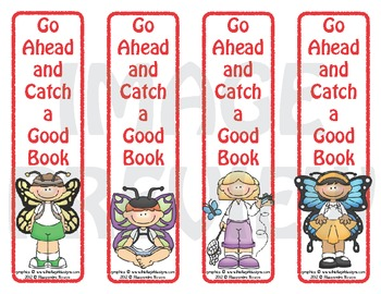 Bookmarks: Go Ahead and Catch a Good Book