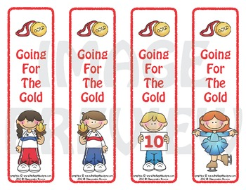 Bookmarks: Going for The Gold