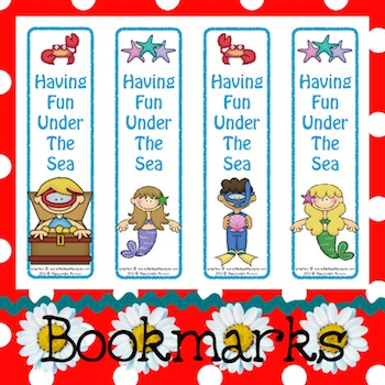 Bookmarks: Having Fun Under The Sea