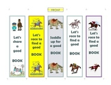 Horse Themed Bookmarks