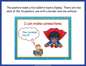 Just Right Books:  5 Finger Rule or Five Finger Rule - Posters and Bookmarks