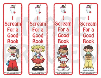 Bookmarks: I Scream For a Good Book