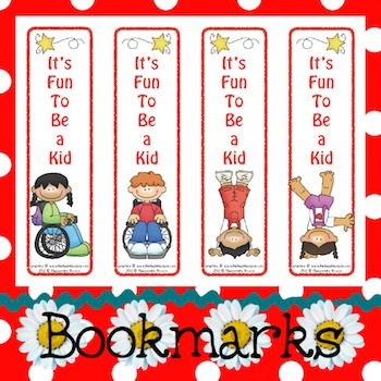 Bookmarks: It's Fun To Be a Kid 2