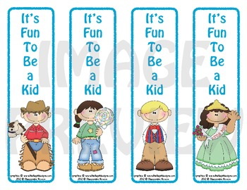 Bookmarks: It's Fun To Be a Kid 7
