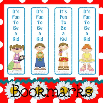 Bookmarks: It's Fun To Be a Kid 9