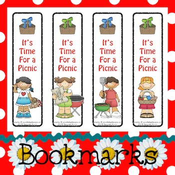 Bookmarks: It's Time For a Picnic