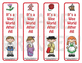 Bookmarks: It's a Wee World After All 3