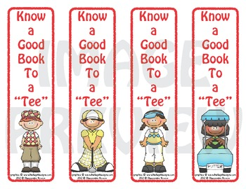 "Bookmarks: Know a Good Book To a ""Tee"""