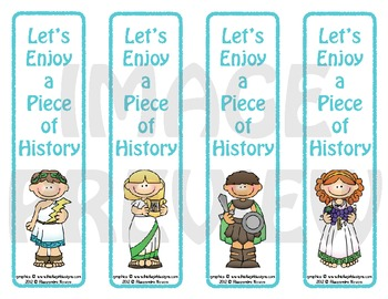 Bookmarks: Let's Enjoy a Piece Of History 2