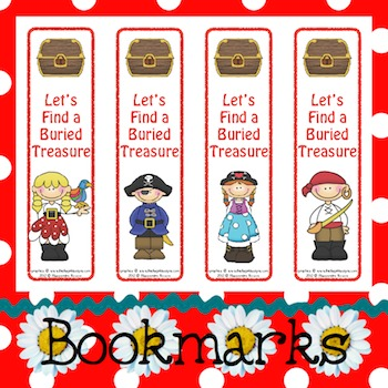 Bookmarks: Let's Find a Buried Treasure