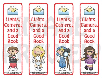 Bookmarks: Lights, Camera, and a Good Book