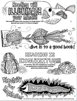 Bookmarks Ocean